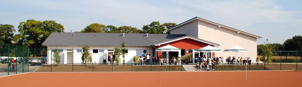Vereinsheim des TSV Bocholt e.V. am Hemdener Weg in Bocholt
